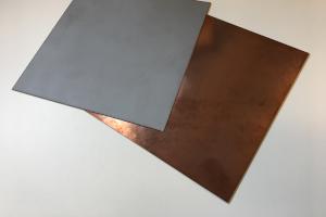 Copper metalized ceramic AlN substrates